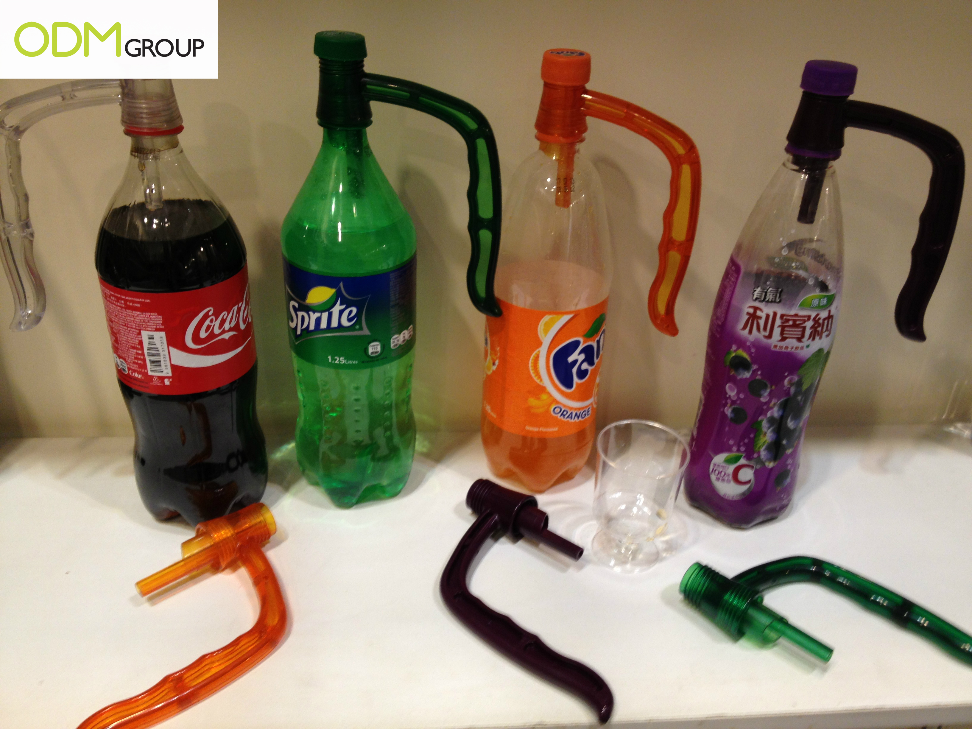 Soda Grib Handy Bottle Holder