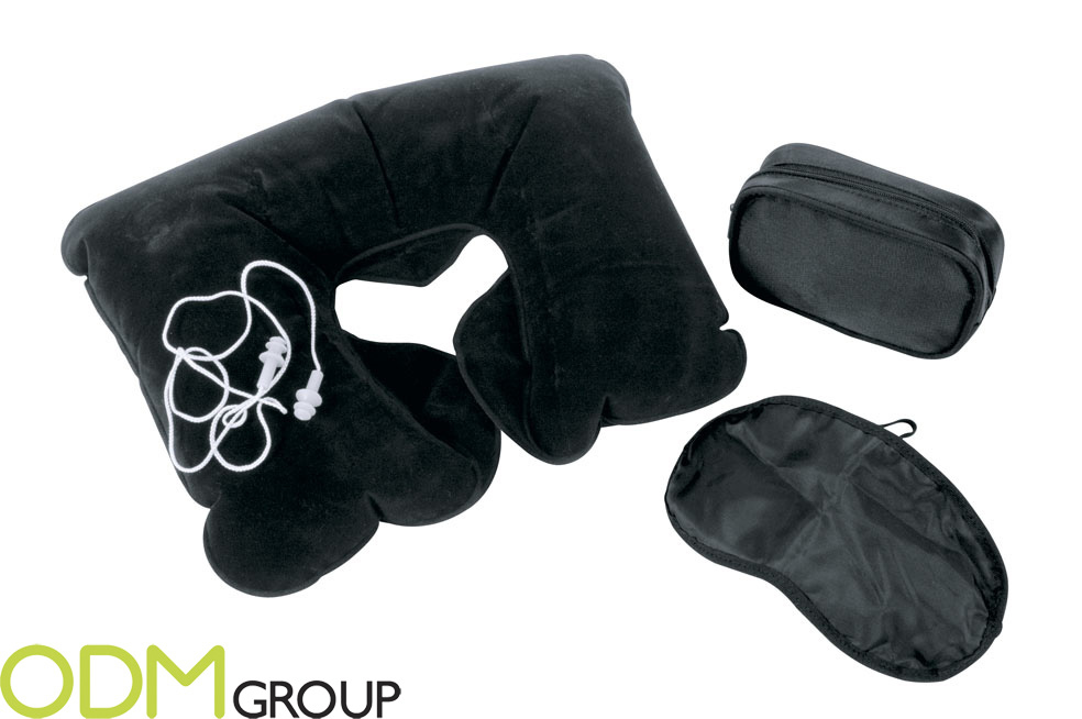 TRAVEL SLEEP SET Promotional Idea: Sleep Kit