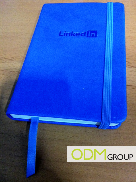 notebk Promotional Item: LinkedIn Notebook