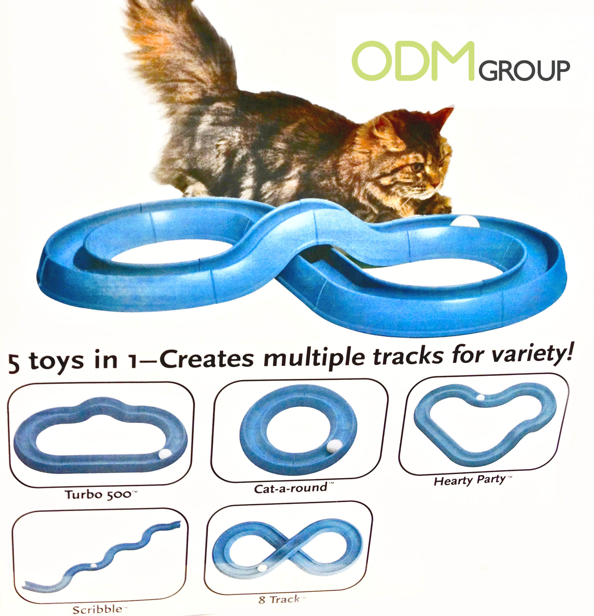 Promotional Gifts for Pets Playing Track Pet Industry Promotional Idea: Cat Track and Ball Toy