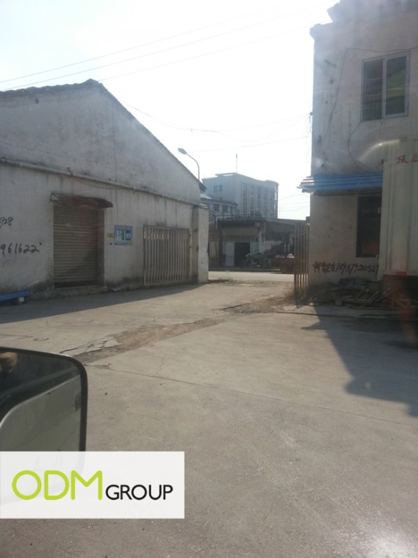 China Factory - Raw Materials Collection Point
